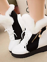 cheap -women fur lining warm winter casual mid-calf snow boots