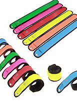 cheap -Night Running LED Wristband Light Safety Belt Arm Leg Warning Wristband Bike Light Bright Armband