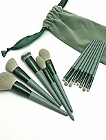 cheap -13 pcs makeup brush set for eyeshadow, foundation, blush, and concealer, artificial fiber makeup brush face powder brush makeup brush kit