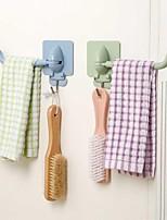 cheap -multifunctional viscose hook kitchen wall hanging hook coat hook bathroom wall seamless towel rack