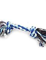 cheap -small dog/cat cotton rope toy set for chewing and playing twin knot rope interactive tug l