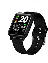 cheap -F29 Unisex Smartwatch Bluetooth Heart Rate Monitor Blood Pressure Measurement Sports Calories Burned Thermometer Stopwatch Pedometer Call Reminder Sleep Tracker Sedentary Reminder