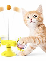cheap -windmill interactive turntable cat toy, indoor cat toys, cat windmill toy with suction cup, windmill cat toy turntable teasing, interactive teasing cat toy
