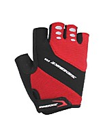 cheap -SIDEBIKE Bike Gloves / Cycling Gloves Wearable Skidproof Fingerless Gloves Sports Gloves Bule / Black Black Red for Adults' Cycling Shoes