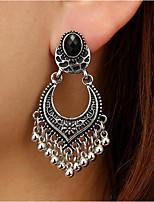 cheap -Women's Drop Earrings Dangle Earrings Tassel Fringe Precious Fashion Resin Earrings Jewelry Gold / Silver For Christmas Halloween Party Evening Gift Festival 1 Pair