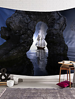 cheap -wall tapestry art decor blanket curtain hanging home bedroom living room decoration island pirate ship arch polyester