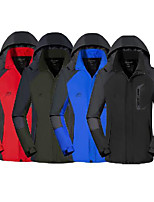 cheap -ski jackets for men,autumn winter detachable breathable waterproof coat sport outdoor thick warm hoodie shell black
