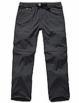 cheap -men's outdoor quick dry convertible lightweight hiking fishing zip off cargo work pant grey 29
