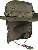 cheap -british boonie hat ripstop + neck flap tropical hat safari hat bush hat (coyote / xl)