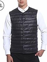 cheap -heated vest, smart constant temperature electric vest multi-functional light down cotton waistcoat heating clothes for men