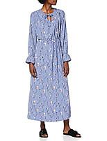 cheap -vero moda women vmgalice ls ankle dress wvn dress, blue, xs
