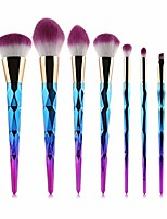 cheap -makeup brush 7-20pcs makeup brushes set powder foundation blush blending eye shadow lip cosmetic beauty make up brush tool kit. by  (color : 7pcs purple, size : one size)