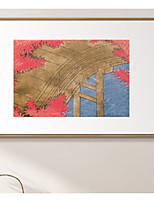 cheap -prints - landscape animals ps illustration wall art chinese/janpanese style modern home decor stretched and framed ready to hang