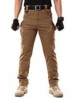 cheap -men's outdoor pants tactical pants (brown m)