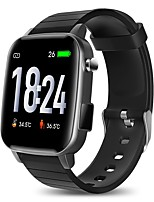 cheap -SP1 Unisex Smartwatch Bluetooth Heart Rate Monitor Blood Pressure Measurement Calories Burned Thermometer Health Care Stopwatch Pedometer Call Reminder Activity Tracker Sleep Tracker