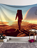 cheap -wall tapestry art decor blanket curtain hanging home bedroom living room decoration planet astronaut space polyester