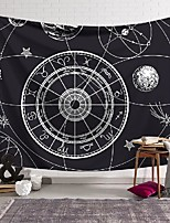 cheap -Tarot Divination Wall Tapestry Astrolabe Constellation Art Decor Blanket Curtain Hanging Home Bedroom Living Room Decoration Bohemian Mysterious