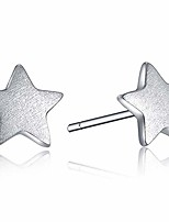 cheap -pentagram  silver stud earrings dainty star stud earrings star earrings studs for women religious pentagram hypoallergenic earrings for women sensitive ears