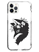 cheap -Animal Patterned Case For Apple iPhone 12 iPhone 11 iPhone 12 Pro Max Unique Design Protective Case Shockproof Back Cover TPU