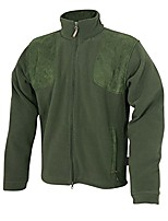 cheap -Men's Hiking Fleece Jacket Winter Outdoor Lightweight Windproof Breathable Quick Dry Jacket Top Fleece Fishing Climbing Camping / Hiking / Caving ArmyGreen