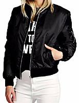 cheap -unisex classic retro military army flight biker zip up bomber jacket (uk 22, black)
