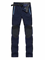cheap -outdoor trail sportswear water resist stretch hiking pants softshell travel pants hunting pants for men navy 2xl