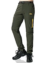 cheap -hiking pants men convertible outdoor pants, quick-drying, breathable, with several pockets and belt, men boys, fleece lined-gray, tag 5xl = 38w