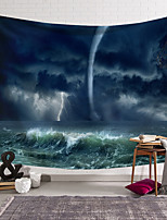 cheap -wall tapestry art decor blanket curtain hanging home bedroom living room decoration seawater storm tornado polyester