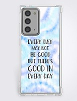 cheap -Quotes & Sayings Case For Samsung Galaxy S21 20 Plus S20 Ultra Note 20 10 S20 FE Design Protective Case Shockproof Back Cover TPU