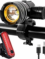cheap -bike light set, bike light front light front, bike light led, bike light usb rechargeable, bike light set, ipx5 waterproof, 3 light modes front light and rear light set