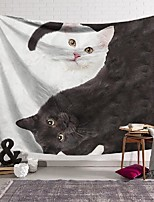 cheap -wall tapestry art decor blanket curtain hanging home bedroom living room decoration polyester double spin cat