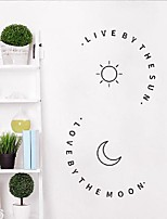 cheap -love and life ins wall stickers creative personality pattern couple bedroom dormitory background decoration stickers fx1294