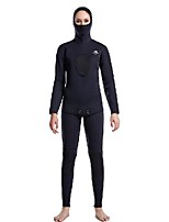 cheap -Women's Full Wetsuit 3mm Nylon SCR Neoprene Diving Suit Windproof Quick Dry Long Sleeve 2-Piece Solid Colored Autumn / Fall Spring Summer