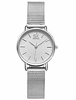 cheap -women's analog quartz watches with stainless steel strap k0006l1