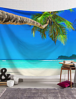cheap -wall tapestry art decor blanket curtain hanging home bedroom living room decoration beach coconut tree small island polyester