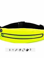 cheap -running belt multifunctional zipper pockets water resistant waist bag. running hiking cycling climbing bag,sweatproof rainproof mobile phone pouch bag (yellow)