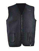 cheap -bulary electric heating vest adjustable usb charging heated warm vest body warmer insulated electric heated therapy winter jacket for outdoor camping hiking golf