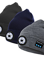 cheap -M2-L Headlamps USB LED Light LED Beanie Hat with Light LED Emitters Portable LED Durable Lightweight Camping / Hiking / Caving Everyday Use Hunting Black Grey Dark Blue