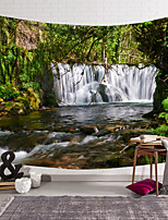 cheap -wall tapestry art decor blanket curtain hanging home bedroom living room decoration waterfall jungle polyester