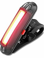 cheap -rear bike light, 110 lumens, rechargeable, usb, led, waterproof, with 6 modes