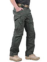 cheap -men's outdoor work military tactical pants rip-stop cargo pants men (greyish green 3xl)