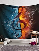 cheap -wall tapestry art decor blanket curtain hanging home bedroom living room decoration polyester ice and fire double heaven music symbol