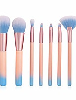 cheap -makeup brush 7pcs cosmetic makeup brushes set eye shadow powder blush concealer contour lip face make up brush kit beauty tool. by  (color : as show, size : one size)