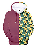cheap -Inspired by Demon Slayer Kamado Nezuko Tomioka Giyuu Kamado Tanjirou Cosplay Costume Hoodie Polyester / Cotton Blend 3D Printing Hoodie For Men's / Women's