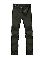 cheap -men's outdoor quick dry hiking pants waterproof climbing camping pants lightweight,black,32