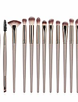 cheap -makeup brushes black+red 10pcs/set spiral design plastic handle beauty makeup brushes cosmetic foundation powder blush make up brush tool (handle color : l 12pcs)