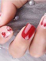 cheap -500pcs Full-Attached Natural Manicure French Pointed Nail Seamless Nail Ballet Nail Transparent Nail Toe Nail l Piece