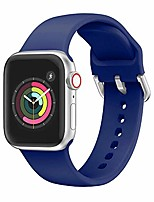 cheap -compatible with iwatch strap soft silicone sport style wristband wirst replacement for a pple watch 38mm 40mm 42mm 44mm series5, series 4,series 3, series 2, series1
