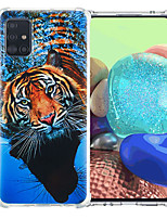 cheap -Case For Samsung Galaxy S20 Plus / S20 / Galaxy A41 Shockproof Back Cover Animal TPU