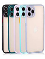 cheap -Case For Apple iPhone 12 / iPhone 11 / iPhone XR Shockproof Back Cover Solid Colored TPU